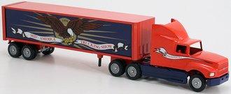 "Ford AeroMax Sleeper w/Van Trailer ""1994 Mid-America Truck Show"""