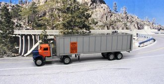 Roadway Conventional Cab w/Tractor Trailer
