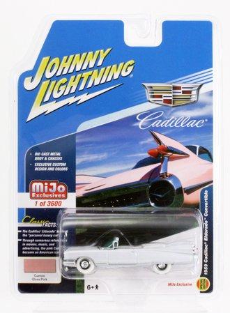 White Lightning 1:64 1959 Cadillac Eldorado Convertible