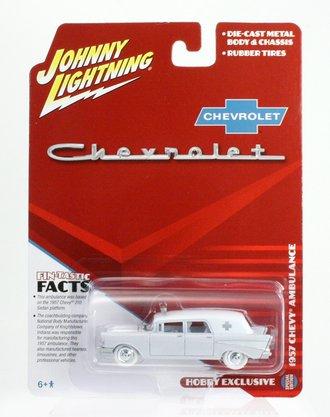 White Lightning 1:64 1957 Chevrolet Ambulance