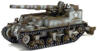 M12 155MM Gun Motor Carriage, US Army, France 1944