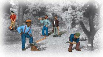O Lumberjack Figures (6)