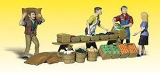 O Farmers Market w/Patrons (4)
