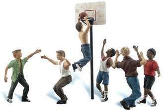 O Shootin' Hoops (6) w/Basketball Goal