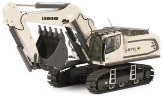 Liebherr R970 SME Excavator (White)