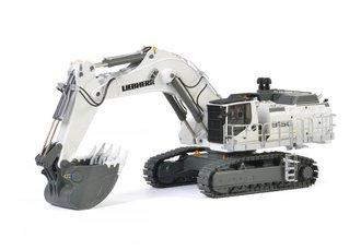 Liebherr R 9150 B Mining Excavator (White)