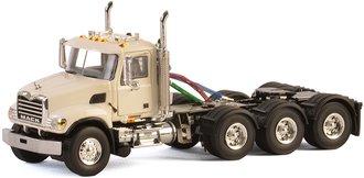 1:50 Mack Granite 4-Axle Tractor (White)
