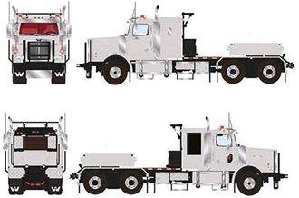 Western Star 4900 6x4 Tractor (Grey w/Silver Ballast Box)