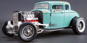 """1:18 1932 Ford 5-Window Coupe """"Southern Speed & Marine"""" *** Broken Mirror - Loose Parts ***"""