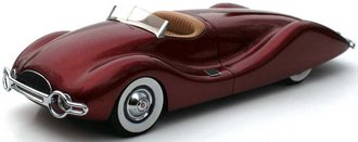 1948 Norman E Timbs Streamliner (Maroon) *** Missing Windshield ***