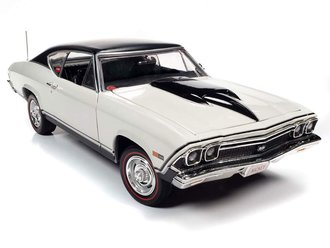 """1968 Chevy Chevelle SS Hardtop """"Nickey Performance"""" (Ermine White)*** Soiled Packaging ***"""