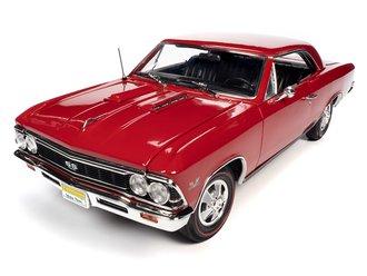 """1966 Chevrolet Chevelle SS 396 Hardtop """"Hemmings"""" (Regal Red) *** Soiled Packaging ***"""