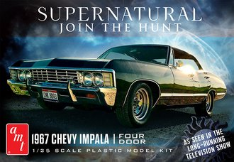 1:25 Supernatural 1967 Chevy Impala (Model Kit) *** Box Damage ***