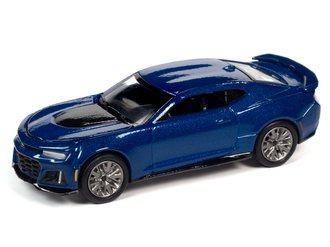 2018 Chevrolet Camaro ZL1 (Hyper Blue Metallic)***Blister Card Damage***