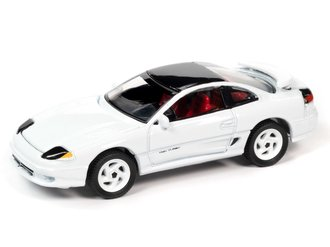 1992 Dodge Stealth R/T Twin Turbo (Gloss White w/Black Roof) ***Blister Card Damage***