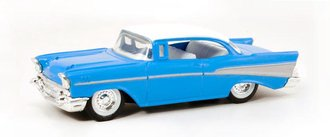 1957 Chevy Bel Air Sport Coupe (Blue/White) *** No Original Box ***