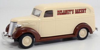"1938 Chevy Panel Delivery ""Delaney's Bakery"" (Beige) *** No Original Box ***"