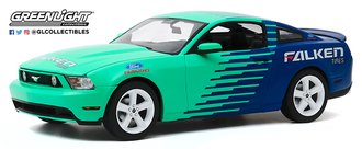 "1:18 2010 Ford Mustang GT ""Falken Tires"" *** Box Damage ***"