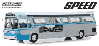 1:43 Speed 1960s GM TDH Los Angeles Bus *** Rear A/C Unit Loose ***