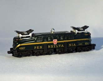 *** LOOSE *** Lionel Ornament - Pennsylvania GG-1 Locomotive - Green