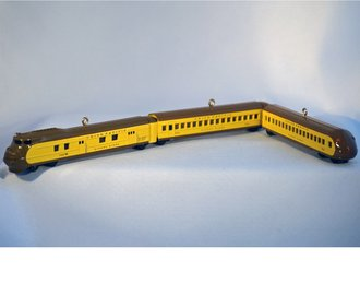 *** LOOSE *** Lionel Ornament - 2010 Set - UP Streamliner, Coach & Tail Coach