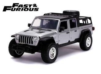 "1:24 F&F - Tej's 2020 Jeep Gladiator ""Fast & Furious 9 - The Fast Saga"" ***Box Damage***"