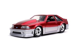 1:24 1989 Ford Mustang GT (Candy Red) ***Box Damage***