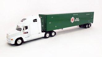 "Freightliner Century ""Hub Group"" w/53' Trailer (White/Green)"