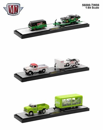 1:64 Coca-Cola 1:64 Auto-Hauler Release TW08 (Set of 3) *** Cracked Display Cases ***