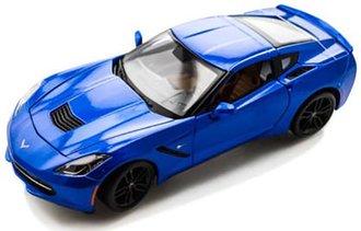 2015 Corvette Z06 (Blue Metallic)