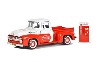 Coca-Cola 1955 Ford Pickup w/Vending Machine *** Paint Chips ***
