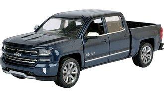 1:27 2018 Chevy Silverado LTZ Pickup Centennial Edition (Blue) *** Box Damaged ONLY ***