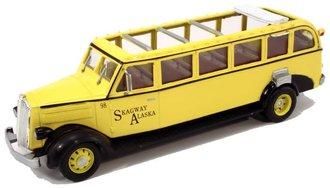 "1936 White Motors 706 Tour Bus ""Skagway"" *** Paint Rash ***"