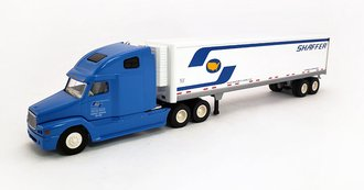 "Freightliner ""Shaffer"" w/53' Reefer Trailer (Blue/White)"