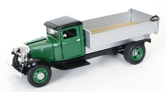 1934 Ford BB-157 Coal Truck (Green/Silver) *** No Original Box ***