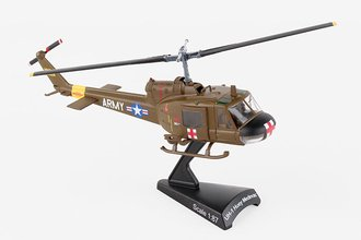 """UH-1 Huey Medevac Helicopter """"U.S. Army"""" ***Damaged Front***"""