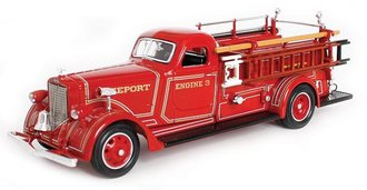 1:43 1939 American LaFrance B-550RC Fire Engine (Red)