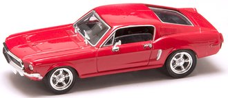 1968 Ford Mustang GT (Red)