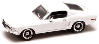 1:43 1968 Ford Mustang GT (White)