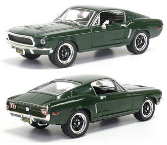 1:43 1968 Ford Mustang Bullitt - Steve McQueen (Green)