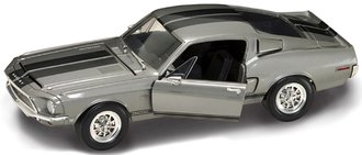 1968 Shelby GT-500KR (Silver)