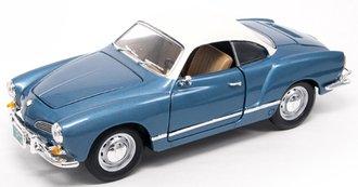 1966 Volkswagen Karmann-Ghia (Blue)