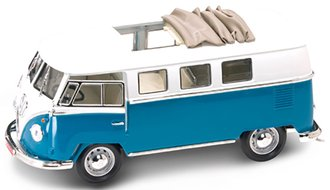 1962 Volkswagen Microbus (Blue) w/Sliding Sunroof