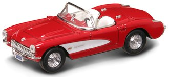 1:43 1957 Corvette Convertible (Red)