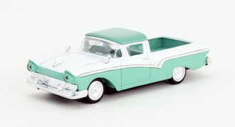 1:43 1957 Ford Ranchero Pickup (Green/White)