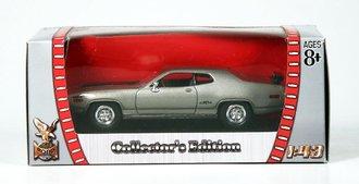 1:43 1971 Plymouth GTX (Silver)