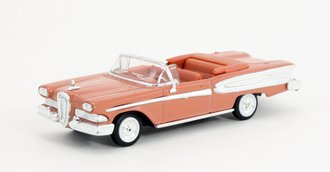 1:43 1958 Ford Edsel Convertible (Sunset Coral)