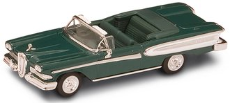 1:43 1958 Ford Edsel Convertible (Green)