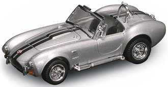 1:43 1964 Ford Shelby Cobra 427 SC (Silver)