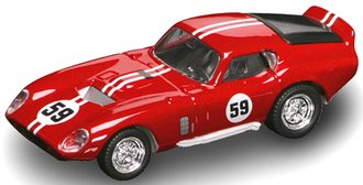 1:43 1965 Shelby Daytona Cobra (Red)